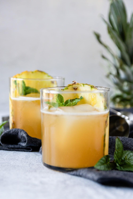 Bourbon Pineapple Smash
